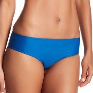 NWT MIKOH Cruz Bay Blue Full Cover Bikini Bottom